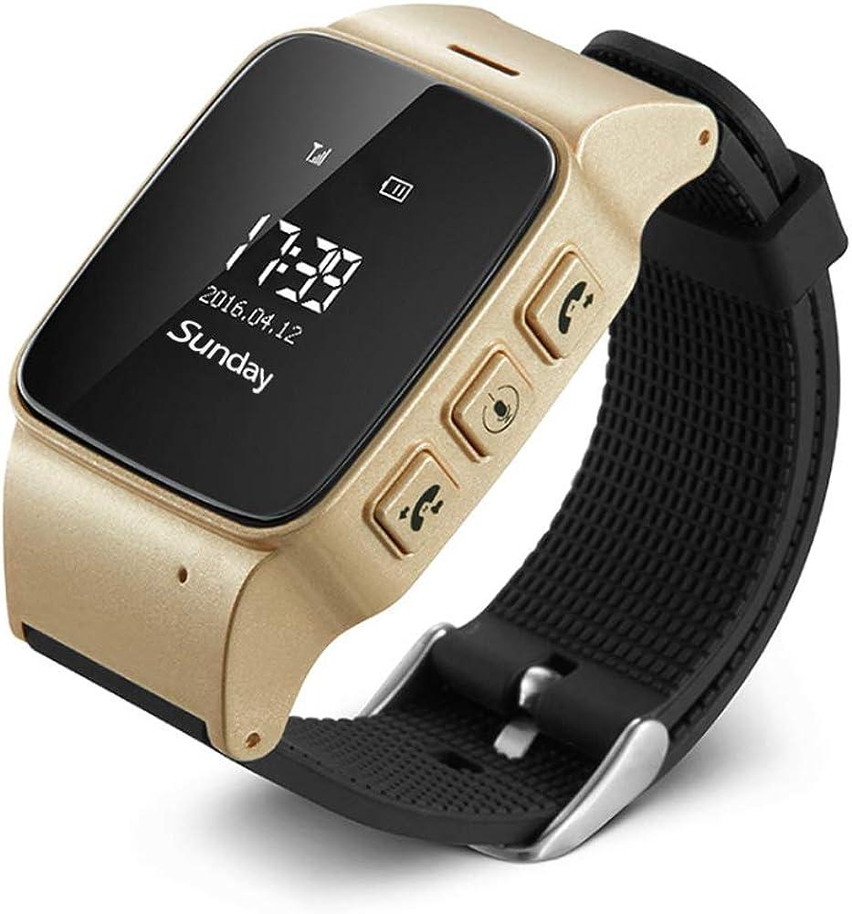 Posicionamiento GPS Posicionamiento Relojes Impermeables para Rastreadores De Anillo De Mano Perdida De Personas Mayores Reloj Inteligente para La Enfermedad De Alzheimer