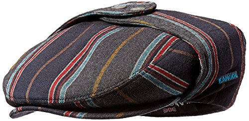 Kangol Men's Tweed Bugatti Cap, College Stripe, XL ()