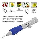 Magic Embroidery Pen,EUOW Punch Needle Pen Set