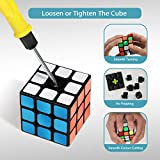 INTEGEAR Full Size 56mm Magic Speed Cube 3x3 Easy