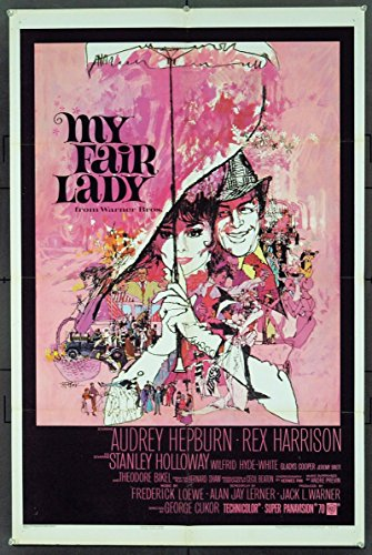 High Society Film Costumes (My Fair Lady (1964) Original Movie Poster)
