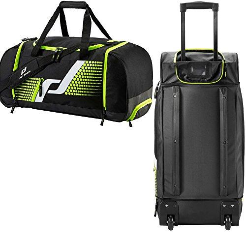 Pro Touch Sporttasche Teambag Roller L Force (Farbe: 901 schwarz/grün)