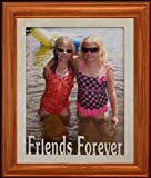 Best PersonalizedbyJoyceBoyce.com Friends Forever Picture Frames - 8x10 FRIENDS FOREVER Portrait Cream Marble Mat Review