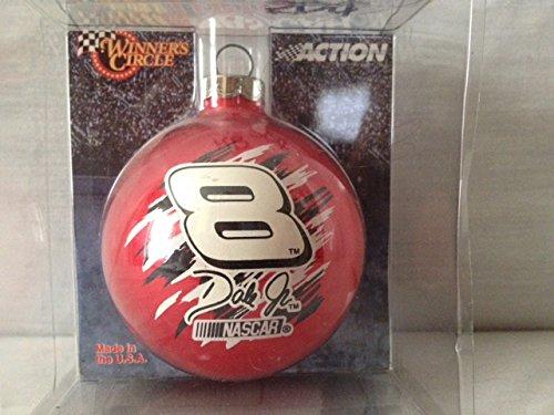Dale Earnhardt Christmas Ornament - Nascar Dale Earnhardt Jr. Glass Ball Christmas Ornament
