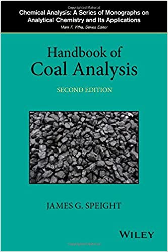 Resultado de imagen para Handbook of coal analysis. - 2nd edition