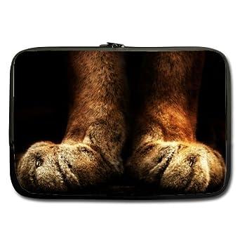 Bajo precio venta – Tiger Paws portátil/Bolsa del ordenador portátil 15.6 inch (doble