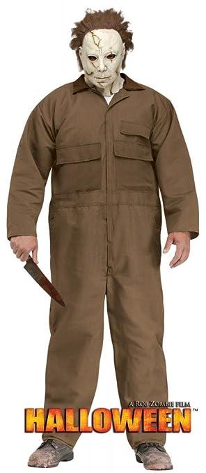 shoperama Señor Disfraz Michael Myers Incluye máscara Horror de película Halloween Disfraz Serie Killer suicidas