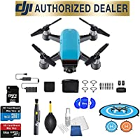 DJI Spark Fly More Combo (Sky Blue) Best Accessory Basic Bundle Package Deal