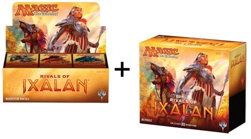 Magic the Gathering Rivals of Ixalan Booster Box And Bundle - 46 packs