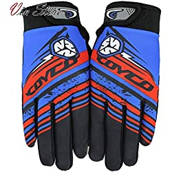Vin Store Cycling Gloves, Waterproof Touchscreen in Winter Outdoor Bike Gloves Adjustable Size for Men and Women (H)