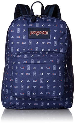 JanSport Unisex SuperBreak Digital Destruction Backpack ()