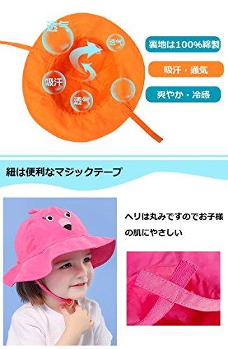 5df6d5872ad4e PANCY  高品質 春夏 帽子 子供 つば広ハット ベビー キャップ 通気 ...
