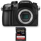 Panasonic LUMIX DMC-GH4KBODY Mirrorless 4K Cinematic Camera Body (Black) Bundle