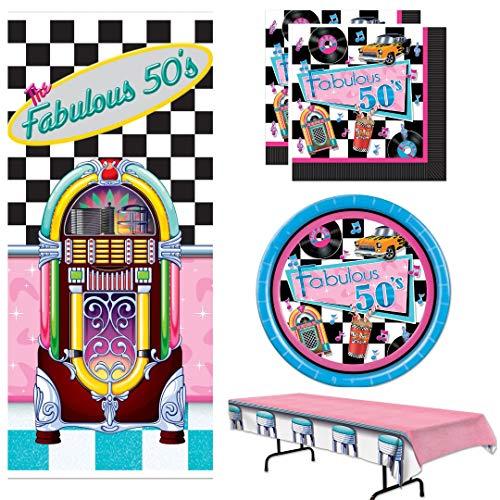 Fifties Theme - 50s Theme Party Supplies, Fabulous 50s,
