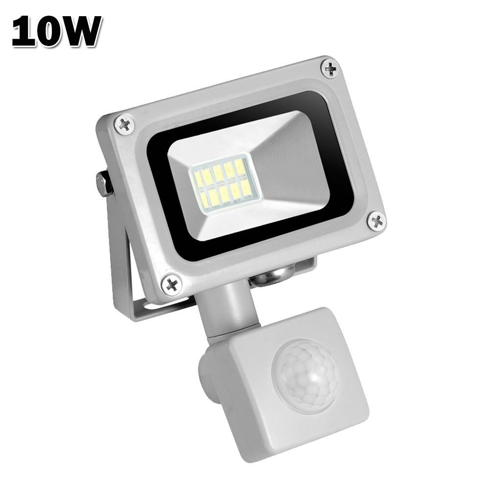 Induction Led Flood Light10w 20w 30w 50w 100w Motion Sensor Lights Security Light With Pir Lightsoutdoor Intelligent Lightwaterproof Ip65super Bright Lightsfor