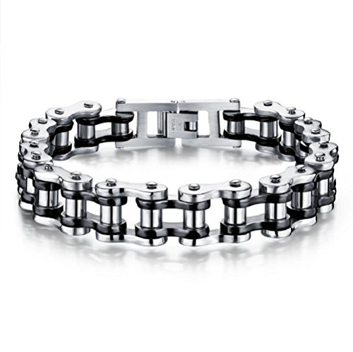 Fariishta Jewelry Fashion Stainless Steel Motorcycle Chain - Locate Coventry