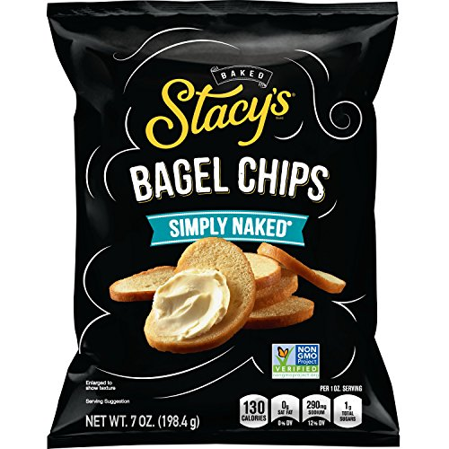 Low Fat Feta (Stacy's Simply Naked Bagel Chips, 7 oz Bag)