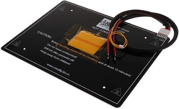 Tubayia - Placa calefactora de Cama Caliente (12 V, para Impresora ...