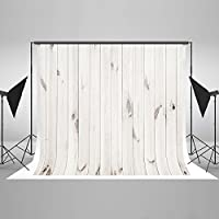 Kate 10x6.5ft White Wood Backdrop Photography Seamless No Wrinkle White Wood Photo Background