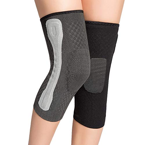 TY BEI Kneepad Sports Knee Pads Meniscus Injury Knee Pads Men's Women Knee Leg Protectors - 5 Sizes Optional @@ (Size : S) by TY BEI (Image #4)