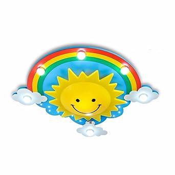 E14 Moderne Kinder Kinderzimmer Lampe Sonnenblume Lampe Baby Lampe  Deckenleuchte Kinderzimmer Junge Mädchen Lampe Deckenlampe Für