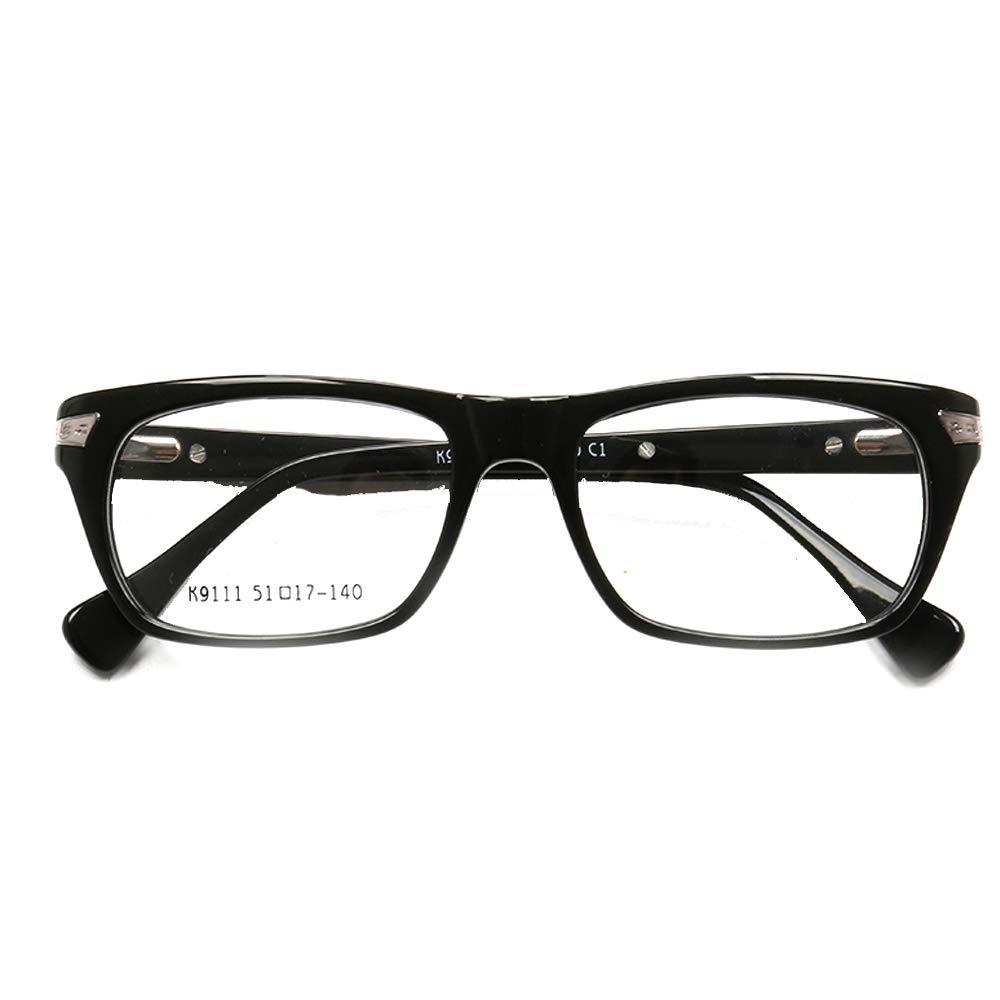 YOUTOP Square Full-Rim Acetate Designer Prescription Eyeglass Frames