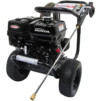 SIMPSON Cleaning PS3835 3800 PSI at 3.5 GPM Gas Pressure Washer Powered by HONDA with AAA Triplex Pump