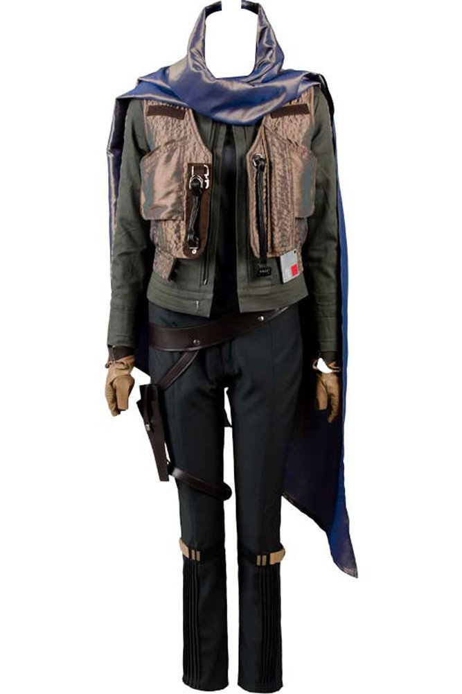 Cosplaysky Rogue One: A Star Wars Story Jyn Erso Costume Stardust Outfit X-Large by Cosplaysky