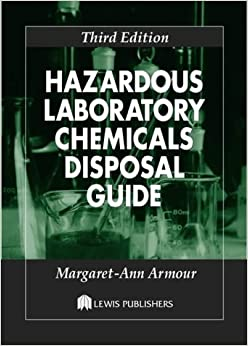 Book Hazardous Laboratory Chemicals Disposal Guide, Third Edition