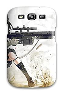 High Impact Dirt/shock Proof Case Cover For Galaxy S3 (women And Guns Anime Other)