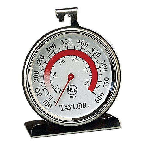 (Taylor Precision Products Classic Series Large Dial Thermometer (Oven) - Set of 2)