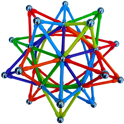 (Super Magz 300 Magnetic Building Set consisting of 176 magnetized rods (2.3