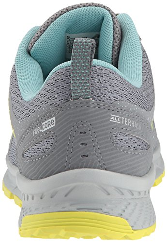 New Balance Women's 590v4 FuelCore Trail Running Shoe, Gunmetal, 5.5 D US by New Balance (Image #2)