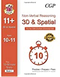 10-Minute Tests for 11+ Non-Verbal Reasoning: 3D and Spatial Ages 10-11 (Book 1) - CEM Test