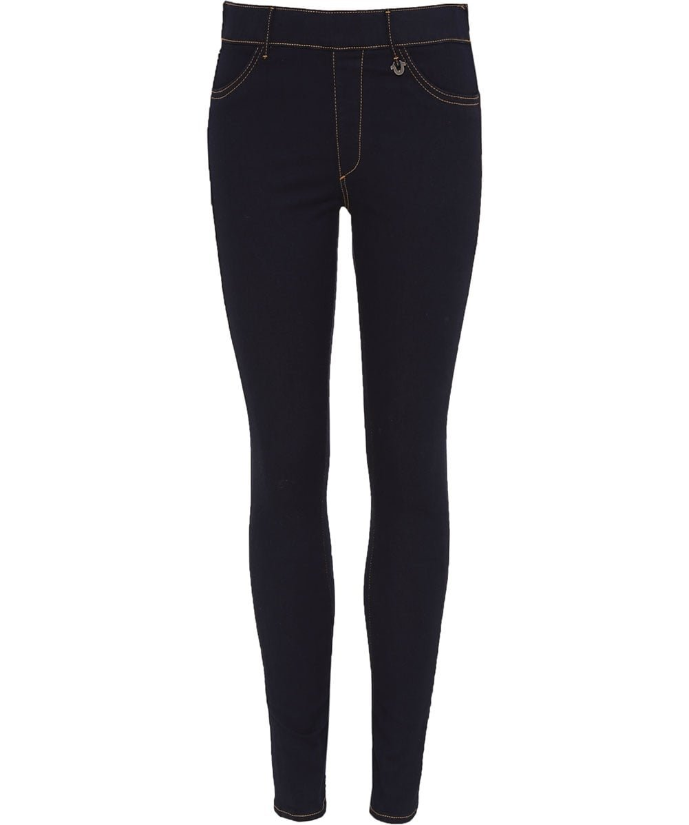 True Religion Women's Runway Denim Leggings BODY RINSE XXS