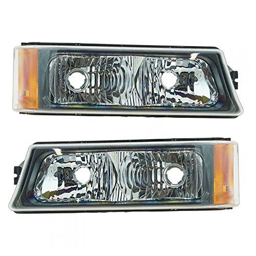 Corner Marker Parking Signal Light Pair for Chevy Silverado Avalanche Pickup ()