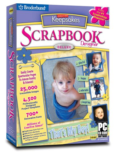 Creating Keepsakes Scrapbooking Software (Creating Keepsakes Scrapbook Designer Deluxe 2.0)