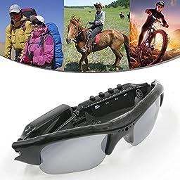 Sunglasses 4 in 1 MP3 Player DVR Mini Camera Camcorder Video Recorder Support Micro SD Card