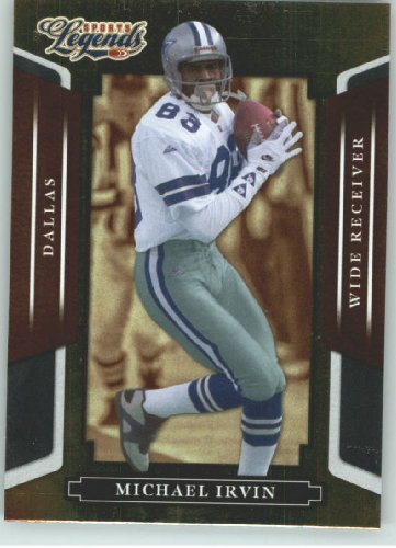 2008 Donruss Americana Sports Legends (Entertainment) Card # 108 Michael Irvin - Dallas Cowboys - Football Card - Trading Card Shipped In Protective Screwdown Display Case! - 2008 Donruss Sports Legends