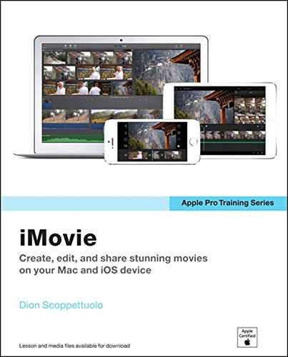 Apple Pro Training Series: iMovie Pdf