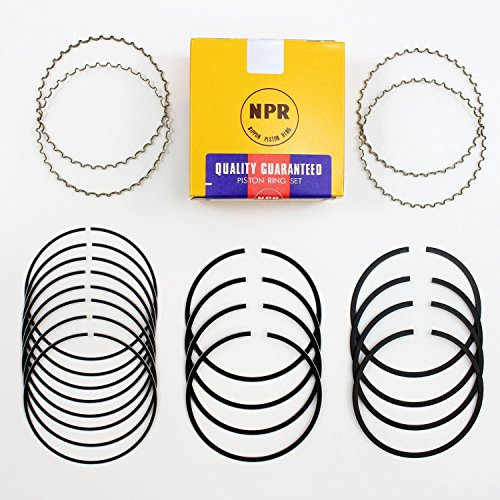 Chevy GMC 6.6 6.6L Duramax Diesel NPR Piston Ring Set/Kit STD 2001-2010 (std)
