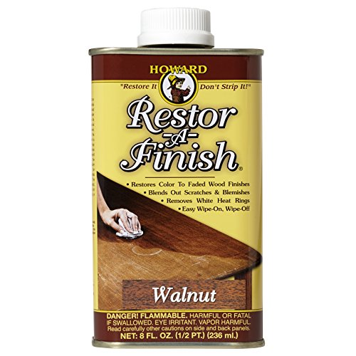 - Howard Products RF4008 Restor-A-Finish, 8 oz, Walnut