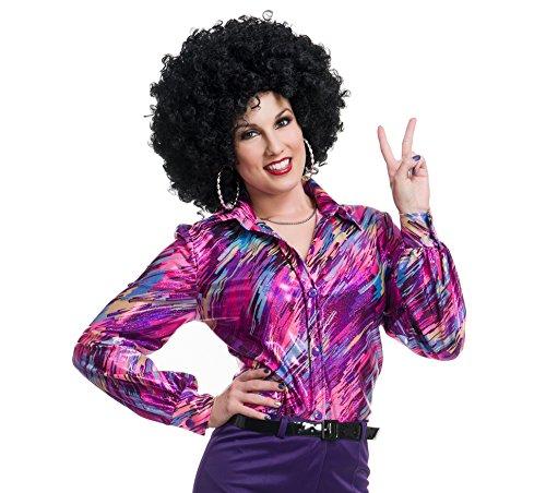 super calidad gran venta disfruta el precio de liquidación Amazon.com: Womens 70s Camisa de la Reina discoteca hembra ...