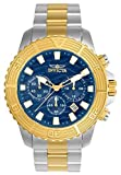 Invicta Men's Pro Diver Quartz Watch with Stainless-Steel Strap, Two Tone, 22 (Model: 24002