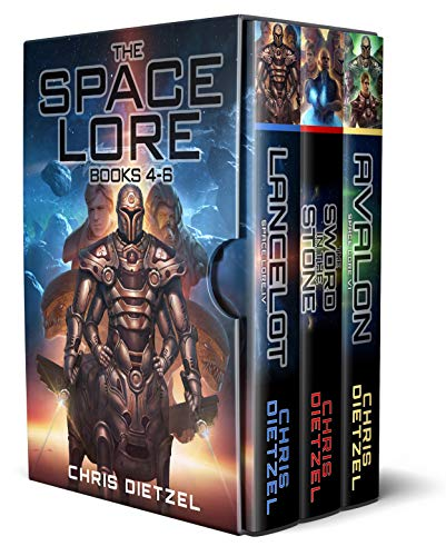 The Space Lore Boxed Set 2: Space Lore Volumes 4-6 (Watch Box Chris)
