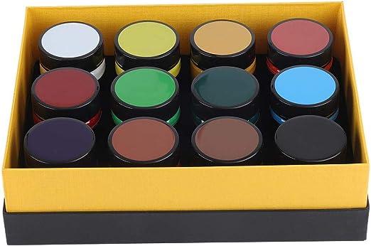 Hilitand 12 Couleurs Pigment Acrylique 100ml Acrylique