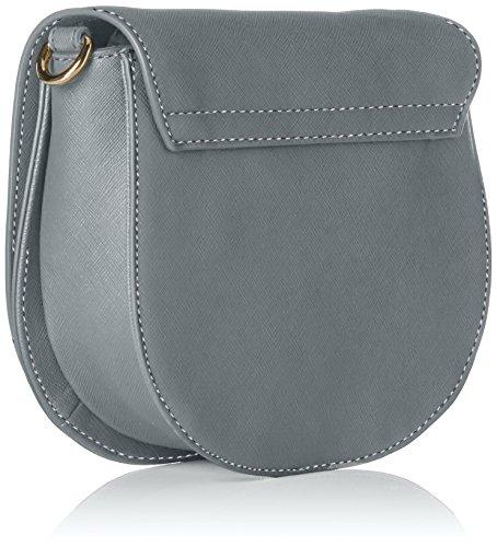 Tommy Hilfiger Honey Saddle Bag, Bolso Bandolera para Mujer, 6x17x20 cm (W x H x L) Azul (Sharkskin)