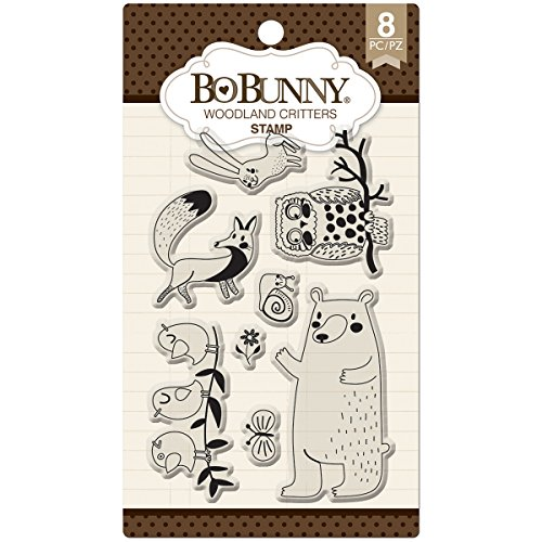 Bo Bunny Woodland Critters Stamp -