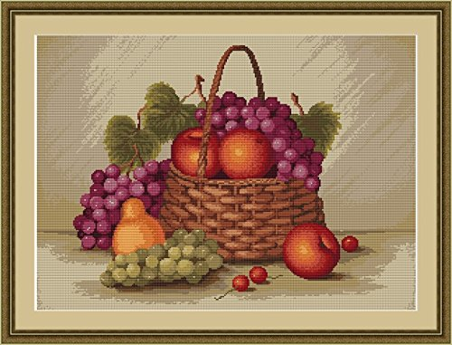 Lucas S Counted Petit Point Cross Stitch Kit Still Life with