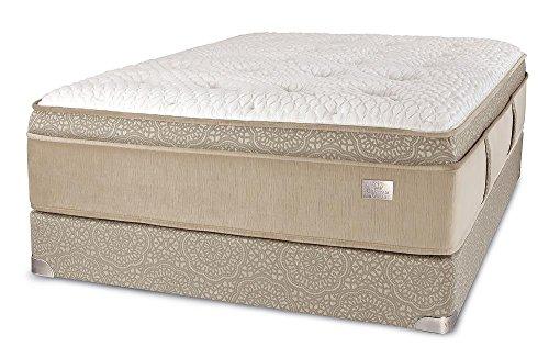 Chattam & Wells California King Franklin Latex Euro Top Mattress & Box
